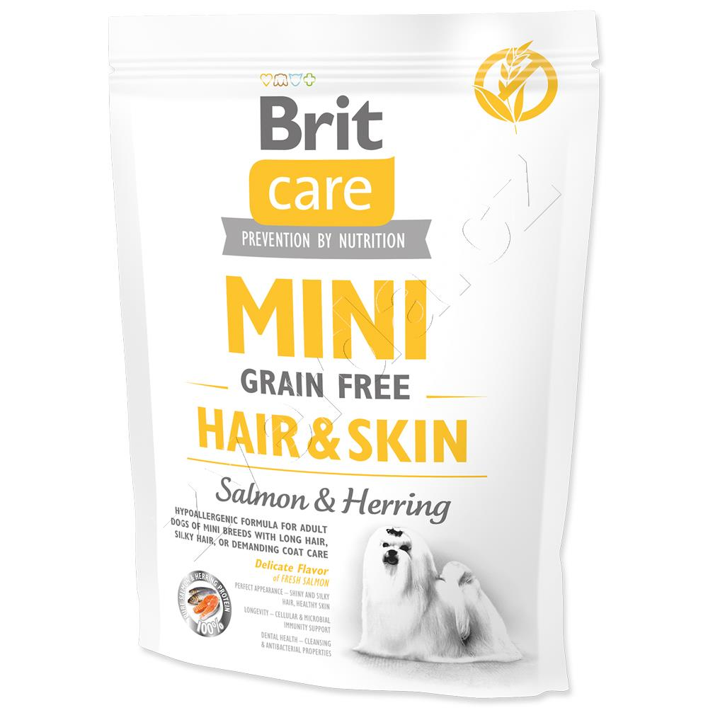 Brit Care Dog Mini Grain Free Hair & Skin 400g