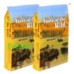 Taste of the Wild High Praire Canine Formula 13kg 2x