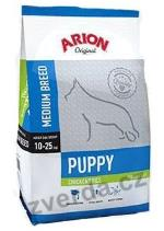 Arion Dog Puppy Medium Chicken Rice 12kg