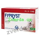 Fypryst Spot-on Dog S sol 1x0,67ml (2-10kg)-Z75244