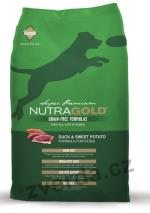 Nutra Gold Duck&Sweet Potato GRAIN FREE 13,6kg