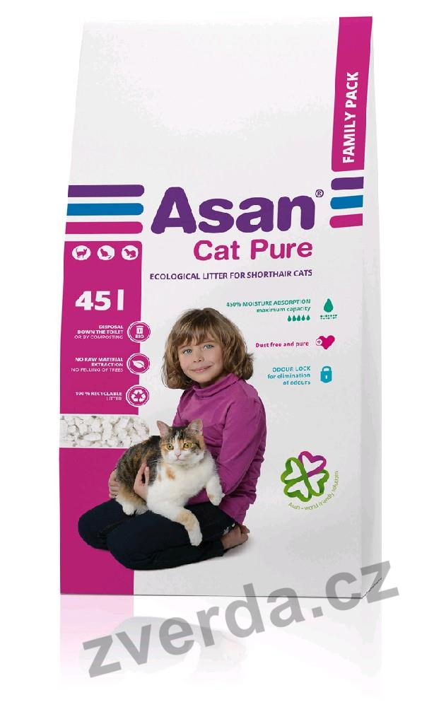 Asan Cat Pure Family 45 l
