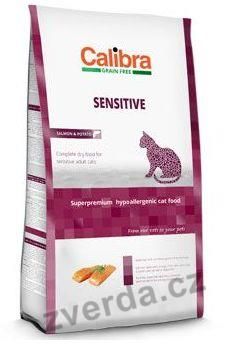 Calibra Cat GF Sensitive Salmon 2kg