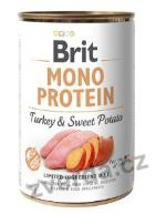 Brit Dog konz Mono Protein Turkey & Sweet Potato 400g