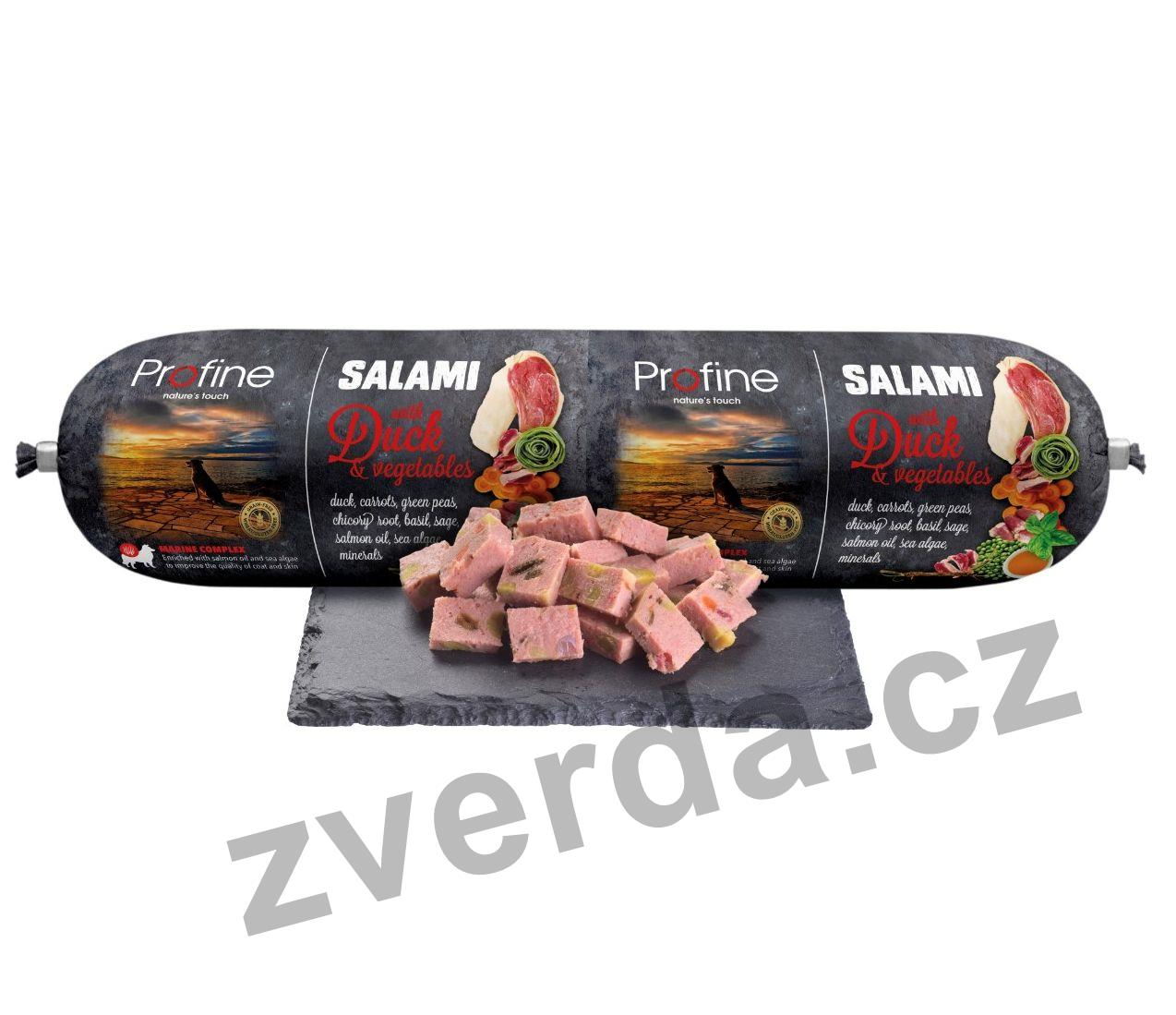 Profine Salami Duck & Vegetables 800g