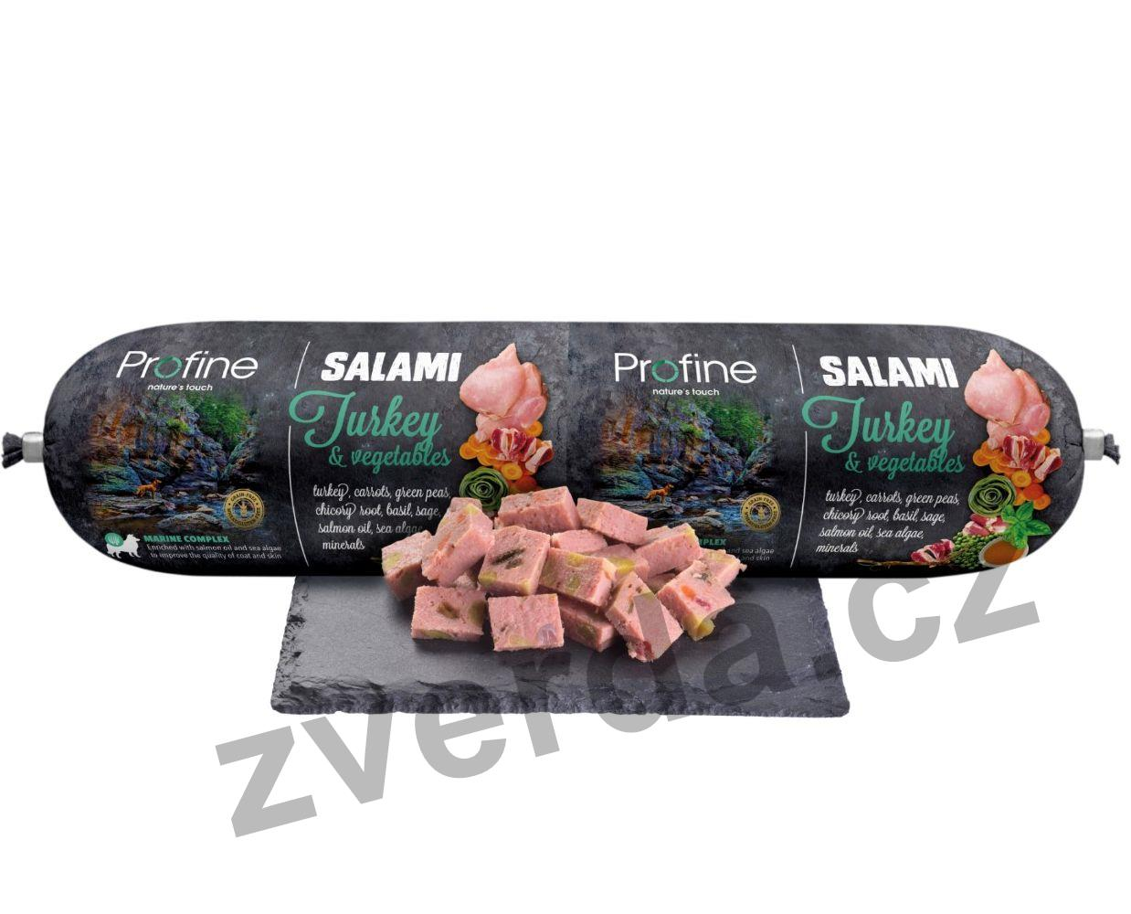 Profine Salami Turkey & Vegetables 800g