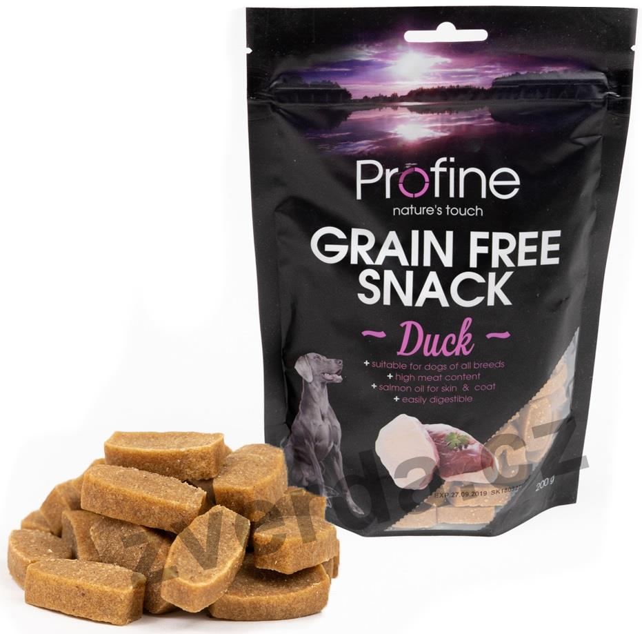 Profine Grain Free Snack Duck 200g