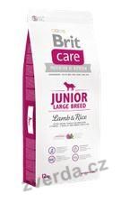 Brit Care Dog Junior Large Breed Lamb & Rice 3kg