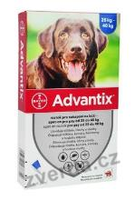 Advantix Spot On 1x4ml pro psy nad 25-40kg (1 pipeta)